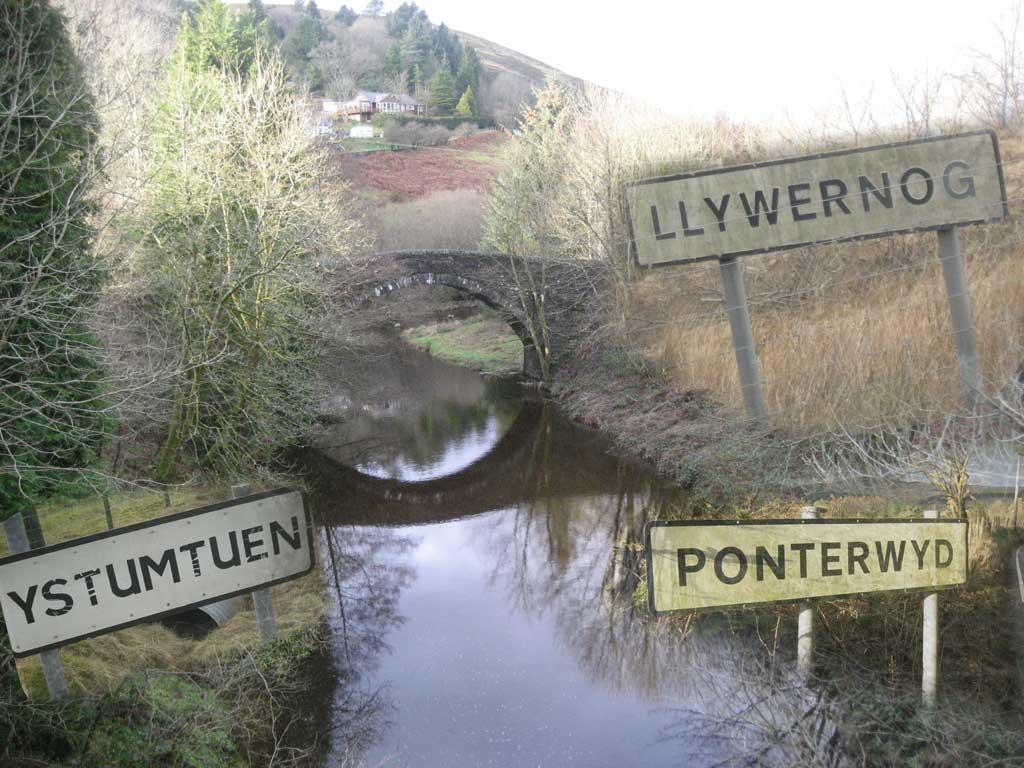 Ponterwyd-Montage